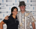 Bridgette of KHON2 and James of Clear Channel