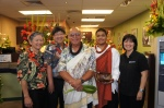 Norman, Glen, Kumu Shad Kane and Assistant, and Paulette after the blessing of the branch